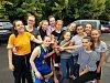 Litoměřické basketbalistky na turnaji v Belgii.