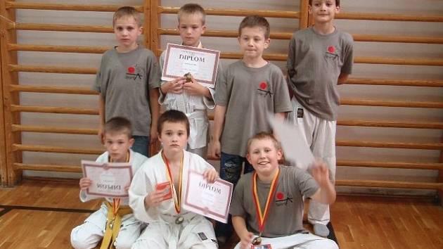 JUDISTÉ. Výprava Sport Judo Litoměřice přivezla z krajských přeborů čtyři medaile.