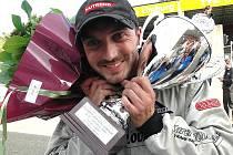 David Vršecký skončil v sobotu v Zolderu druhý a první.