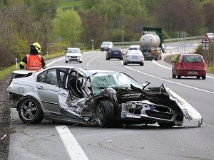Dopravní nehoda, ilustrační foto.