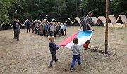 Nedaleko Velemína se nachází oblíbený skautský tábor