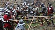 Tradiční středověká bitva na Vodním hradu v Budyni nad Ohří.
