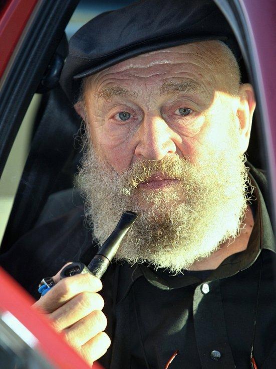 Rolf Hoppe, král z pohádky Tři oříšky pro Popelku, na archivním snímku