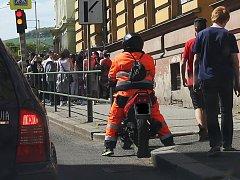 Nehoda v ulici Na Valech