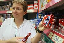 Vedoucí lékárny v litoměřickém Kauflandu magistra Zorka Krobová má už nějaký čas důvod k úsměvům.