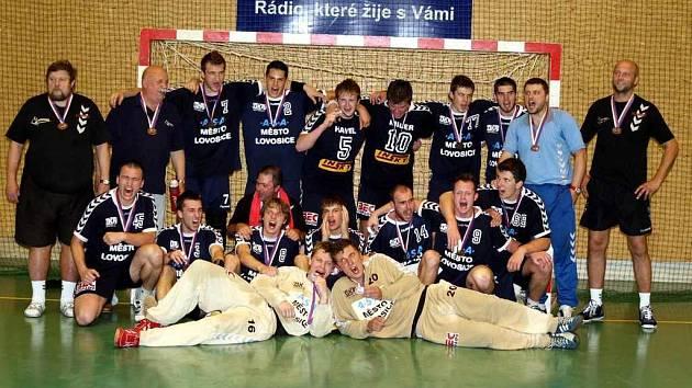 HK Lovosice - bronzový tým extraligy v házené 2006/2007