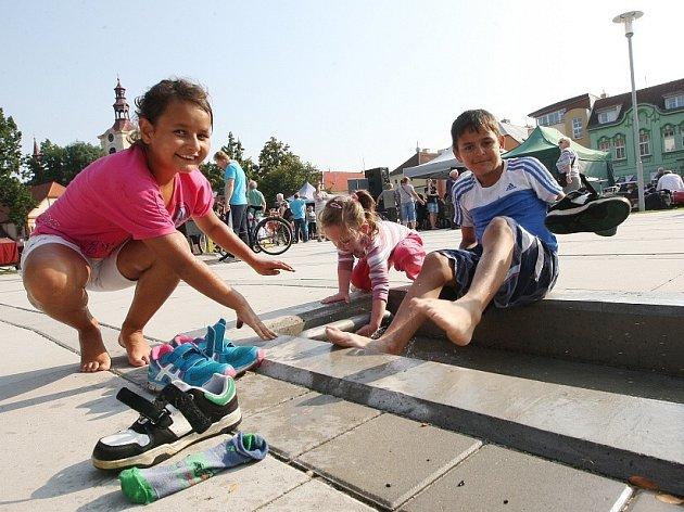 """Slavnostní otevření """"zeleného náměstí"""" v Lovosicích"""