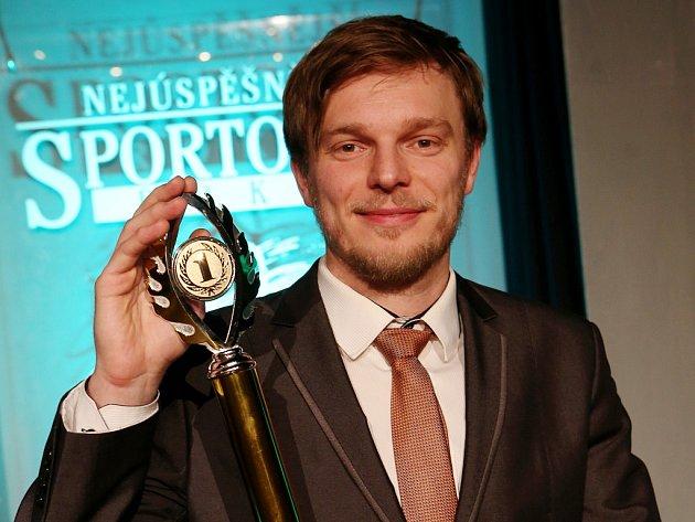 Jiří Motl, vítěz ankety Nejúspěšnější sportovec roku 2017 Litoměřicka