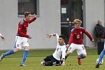 Česká reprezentační šestnáctka hraje v úterý v Roudnici se Švýcarskem.