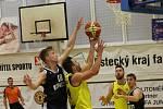 Slavoj Litoměřice - Sokol Pražský, basketbal, I. liga 2019/2020