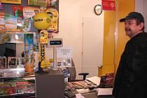 Vladimír Kníže ze Židovic je se službou Pošty Partner v Hrobcích spokojený.