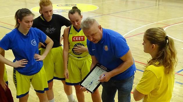 Basketbalistky Slovanu Litoměřice ilustrační
