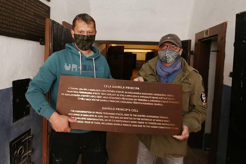 V Terezínském památníku v Malé pevnosti probíhají přípravy na opožděnou sezonu