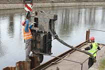 STAVBA terezínských protipovodňových opatření je v plném proudu.