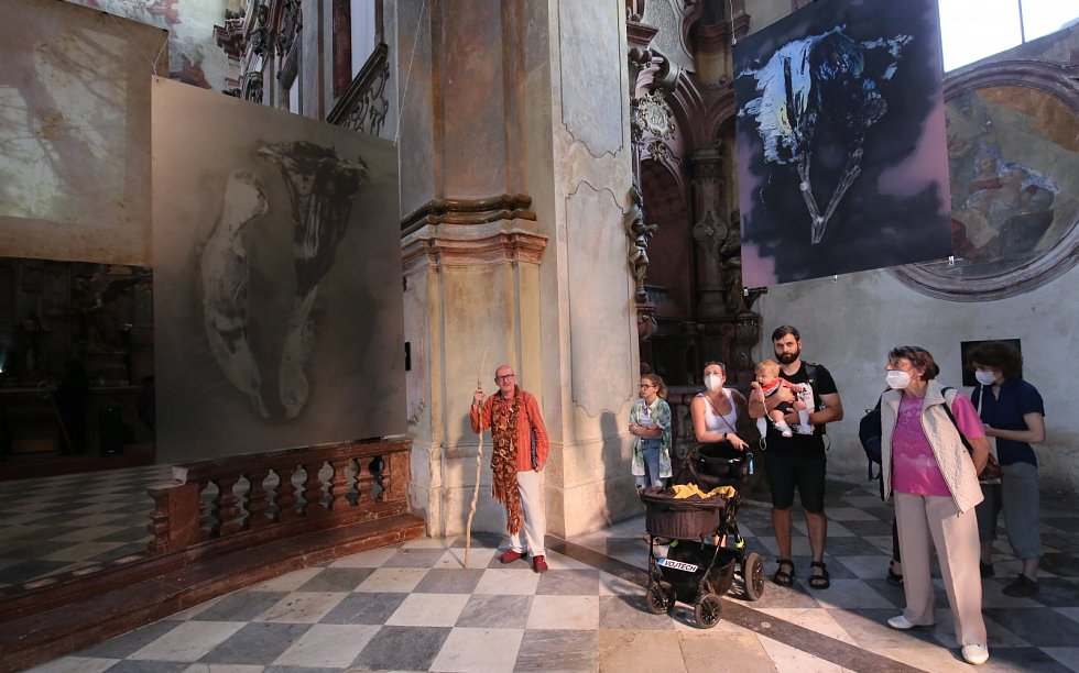 Vernisáž výstav Andere Seite studio: Zjevení přírody & Salon ASSociace Kubinstadt v kostele Zvěstování Panny Marie v Litoměřicích