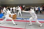 Domácí šampionát v šermu kordem žáků skončil úspěchem reprezentantů Slavoje, kterým se dařilo i v soutěži družstev
