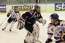 Hokejové utkání Litoměřice - Chomutov