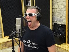 Nahrávací studio The Barn v Ladě u Liběšic. Novou desku tam nahrál Honza Křížek.