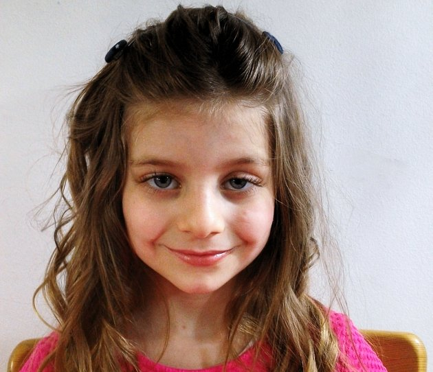 5. Leona Hesová - 6let, Předonín.