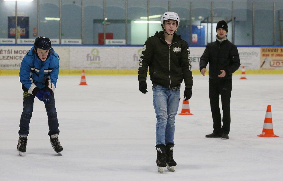 21. ročník soutěže o nejrychlejšího bruslaře na zimním stadionu v Litoměřicích.