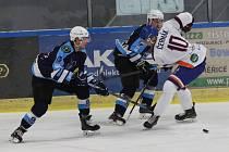 Hokejové utkání posledního zápasu přípravy mezi Litoměřicemi a Mostem