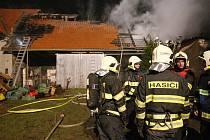 Požár v Nučnici