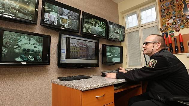 Kamerový systém Městské policie Litoměřice.