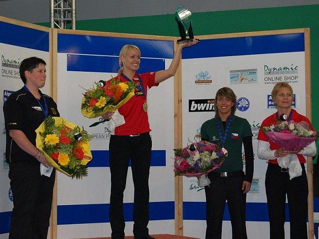 MEDAILE. Veronika Hubrtová z BC Harlequ´in Roudnice uspěla na evropském šampionátu v poolu v Rakousku, kde získala dvě medaile.