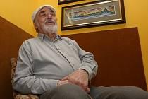 Malíř středohoří Dan Richter oslavil 85. narozeniny