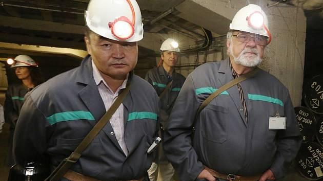 Úložiště jaderného odpadu u Litoměřic navštívil mongolský velvyslanec
