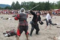 Piráti dobývají jezero v Úštěku 2010.