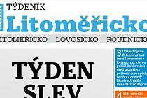 Nový Týdeník Litoměřicko právě vychází.