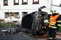 Nedělní nehoda v Horní Vysoké