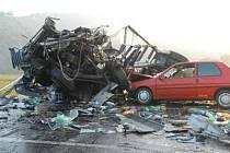 Smrtelná dopravní nehoda u Malých Žernosek