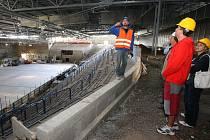 Rekonstrukce zimního stadionu v Litoměřicích, 2010
