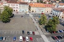 Mírové náměstí v Litoměřicích