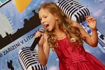 Pěvecká soutěž Little Star v Litoměřicích