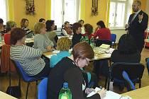 """Centrum pro rodinu Terezín uspořádalo seminář na téma """"Partneři a rozchody""""."""