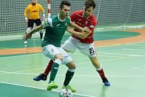 Futsalisté Gardenline v Teplicích. Ilustrační foto
