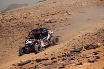 Buggyra na třetí Etapě Dakaru.