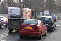 Problematické čištění ulic v Roudnici.