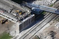 Oprava Tyršova mostu, 3.6.2015