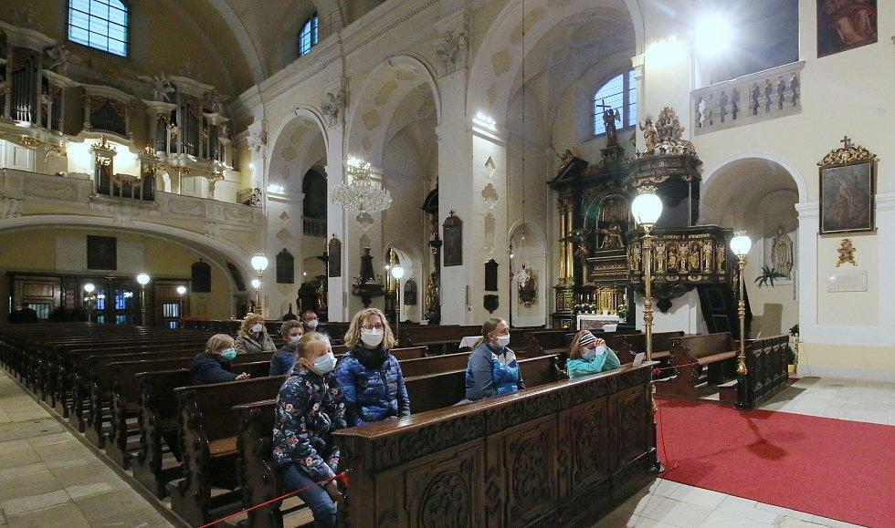 Noc kostelů na Litoměřicku lákala na otevřené svatostánky.
