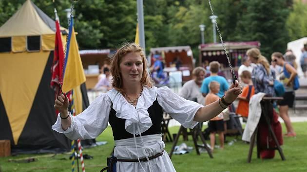 Obyvatelé Lovosic si užívali již tradiční Valdštejnské slavnosti.