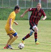 Sport fotbal pohár ÚKFS Union Děčín - Litoměřicko B 2:5