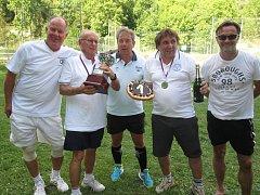 Tenisový Ondráš Cup 2017 se v areálu v Malých Žernosekách letos konal už počtvrté.