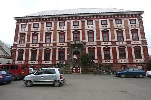 Domov důchodců na zámku vMilešově.