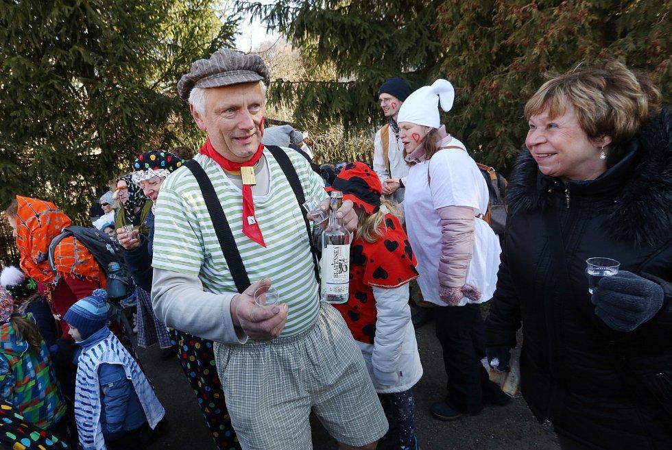 Tradiční masopust v Zubrnicích.