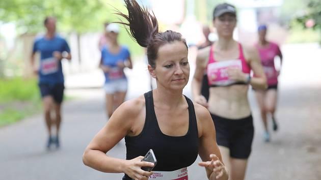Olympijský běh 2019 v Brozanech.