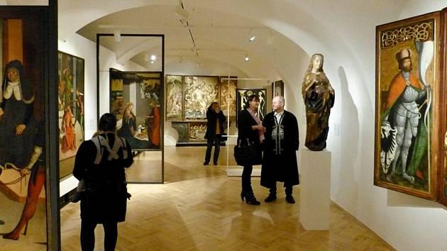 Severočeská galerie výtvarných umění v Litoměřicích. Ilustrační foto